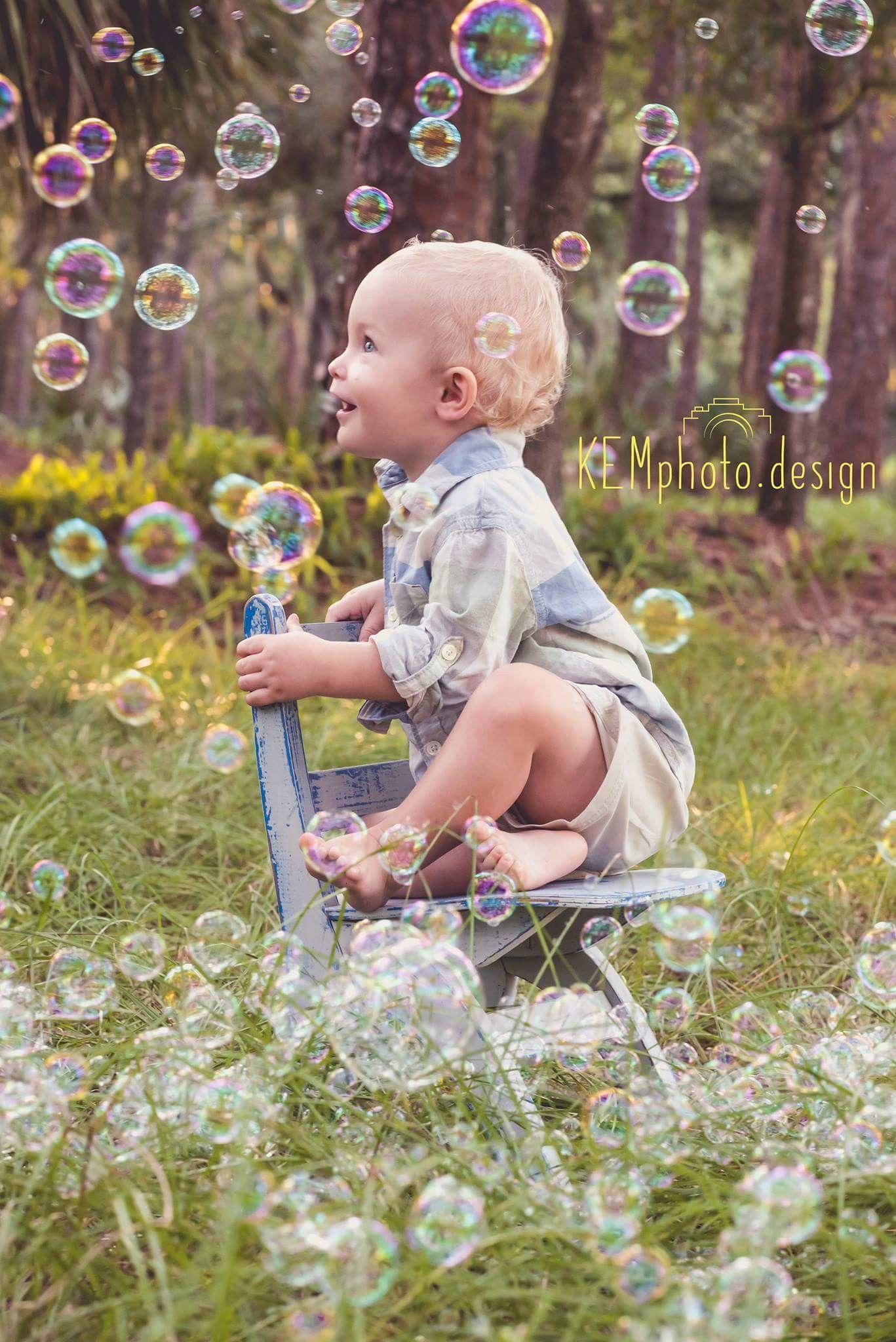 1 Year Photoshoot Ideas Boy : photoshoot, ideas, Bubble, Photoshoot, Birthday, Photoshoot,, Pictures