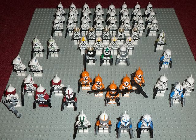 Lego Clonies | Jet packs, Clone trooper and Lego star wars
