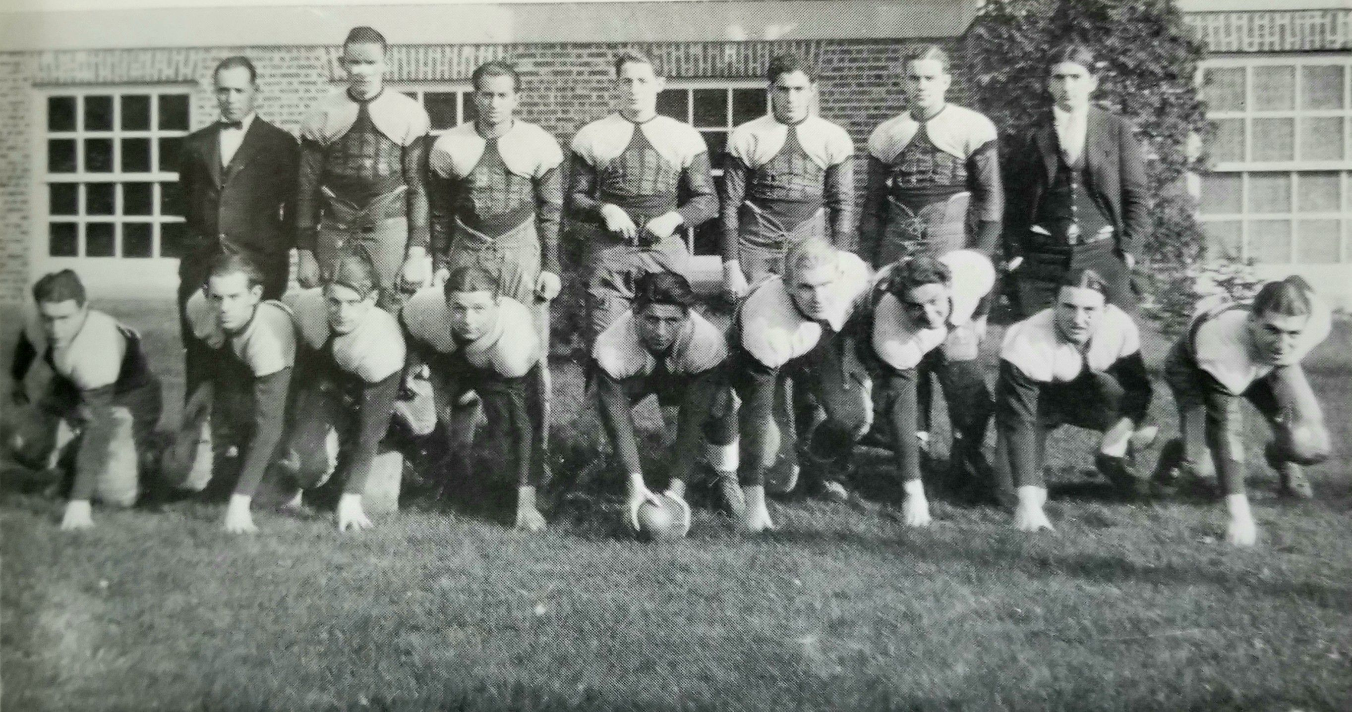 1926 lakewood piners football team photo 2 source 1927
