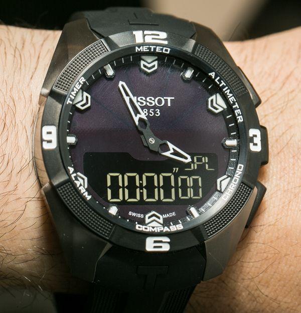 Tissot T Touch Expert Solar Watch Hands On Exclusive Ablogtowatch Erkek Kol Saatleri