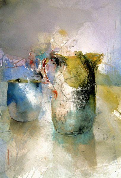 Lars Eje Larsson Aquarelle Still Life Art Art Painting