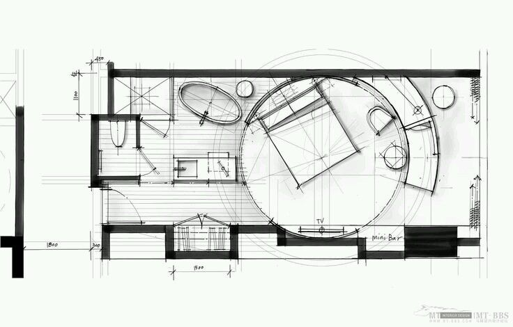 Hotel Design Floorplan Sketch Hotel Room Plan Floor Plan Design Hotels Design