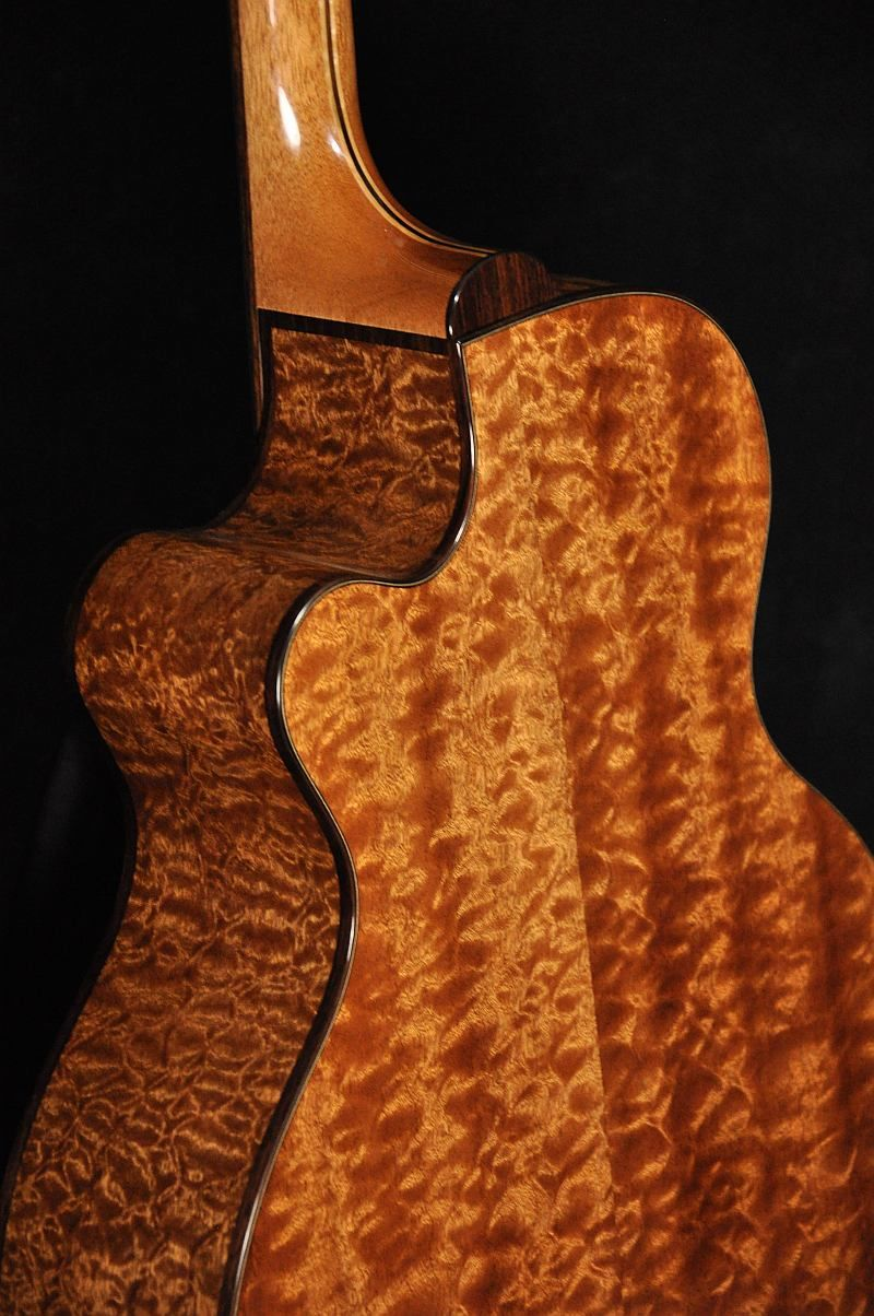 John Osthoff - SJ model with some decent  figuring  of the quilted ... : quilted sapele - Adamdwight.com