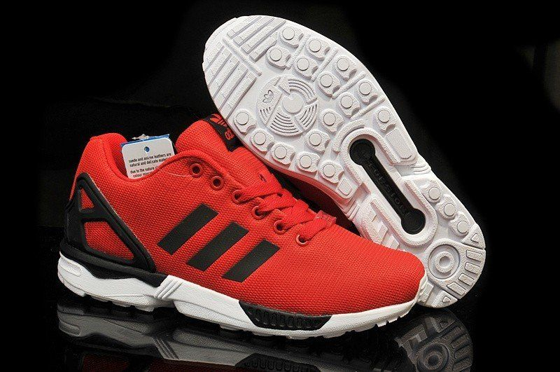 chaussure adidas rouge zx flux