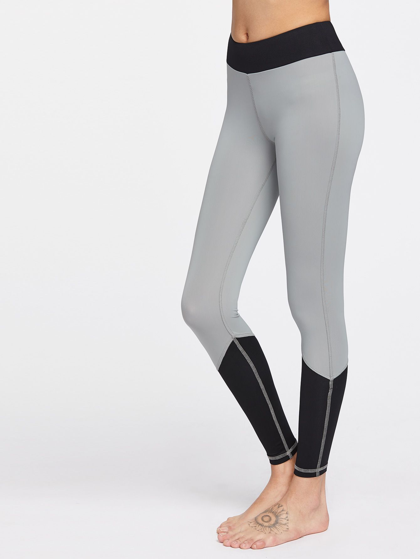 1c23042c8c492 Shop Color Block Gym Leggings online. SheIn offers Color Block Gym Leggings  & more to fit your fashionable needs.