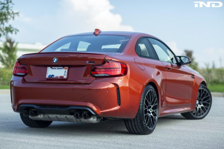 Owner Review Bmw M2 Competition In Sunset Orange