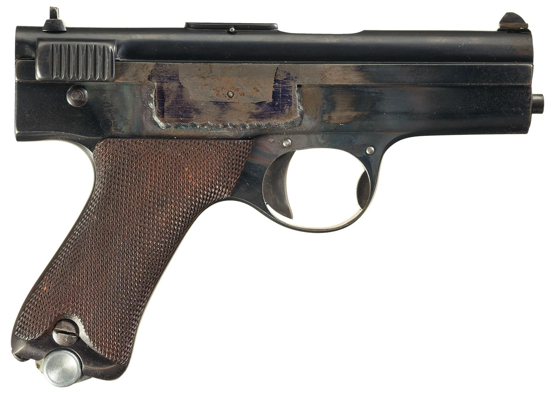 Spp 1 underwater pistol - Mannlicher Self Loading Pistol M1894 Blow Forward Action Unique Firearms Pinterest Guns Weapons And Revolvers