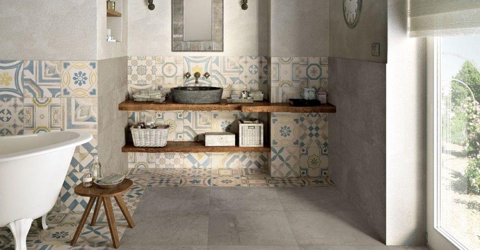 Bagni Per Case Di Campagna : Cementine ceramiche keope idee per la casa bagno bagno