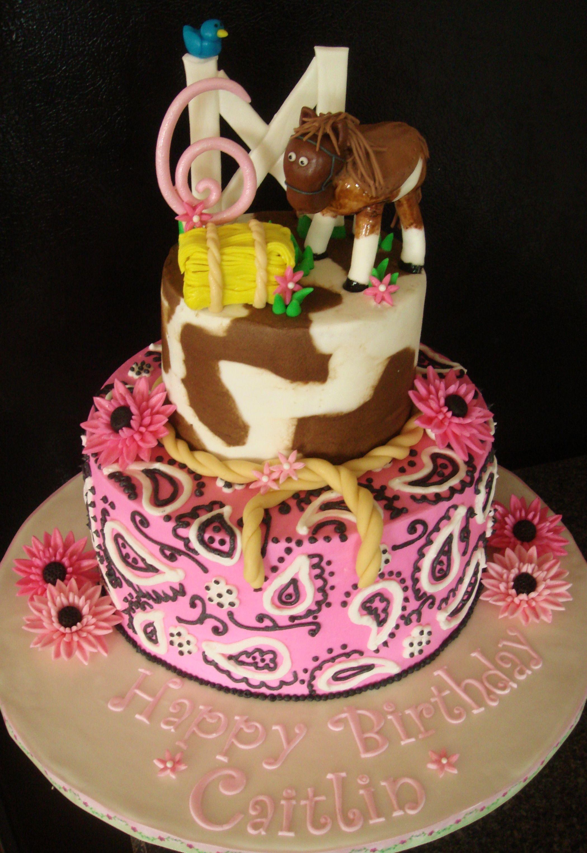 Love It Horsethemedbirthdaycake Cakes Pinterest Birthday