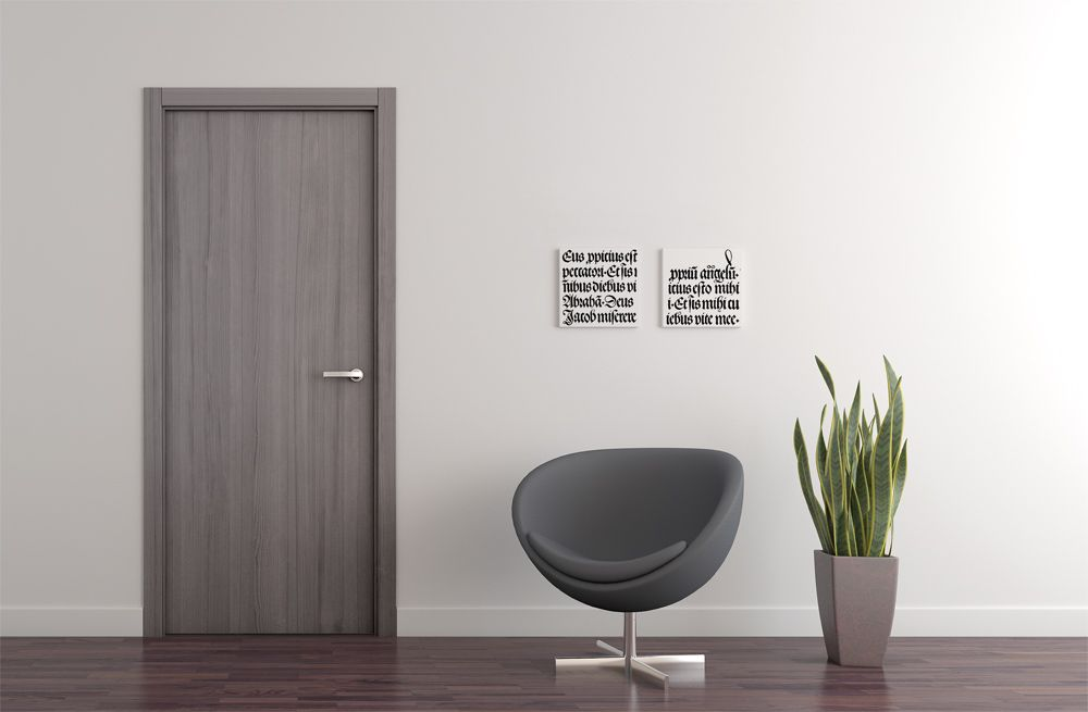 puertas color gris - Buscar con Google | zotin | Pinterest | Doors ...