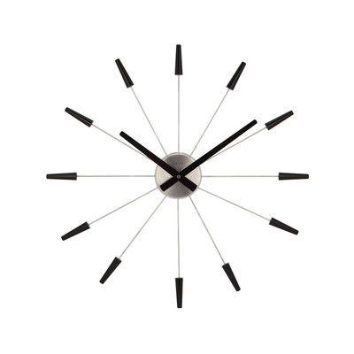 Oversized Eisenhauer 30 Wall Clock Clock Black Clocks Wall