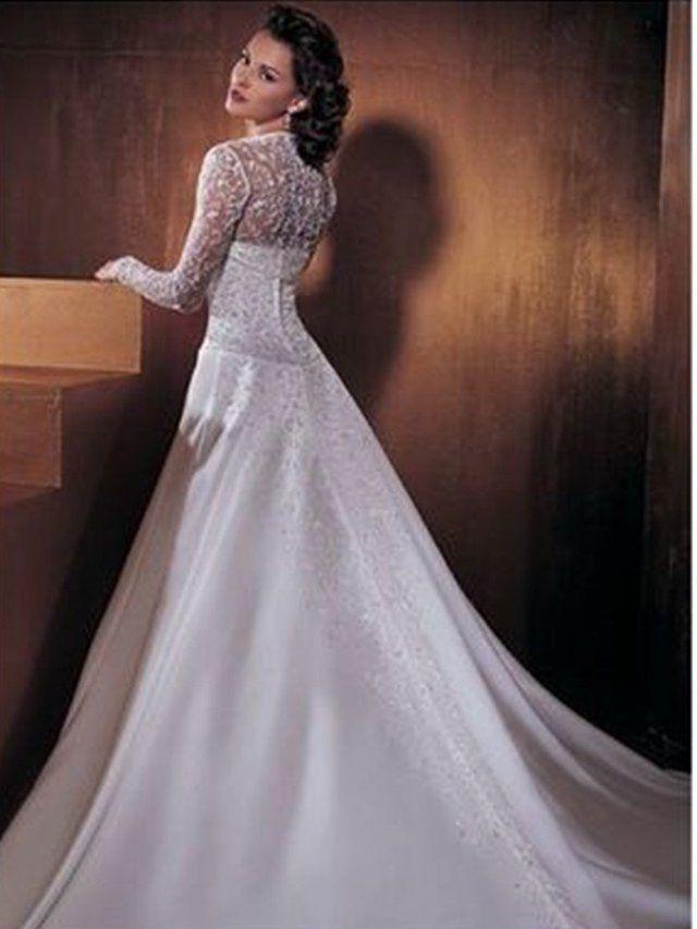 Vestidos de novia hasta talla muy grande 62. Dinos tu estilo y ...