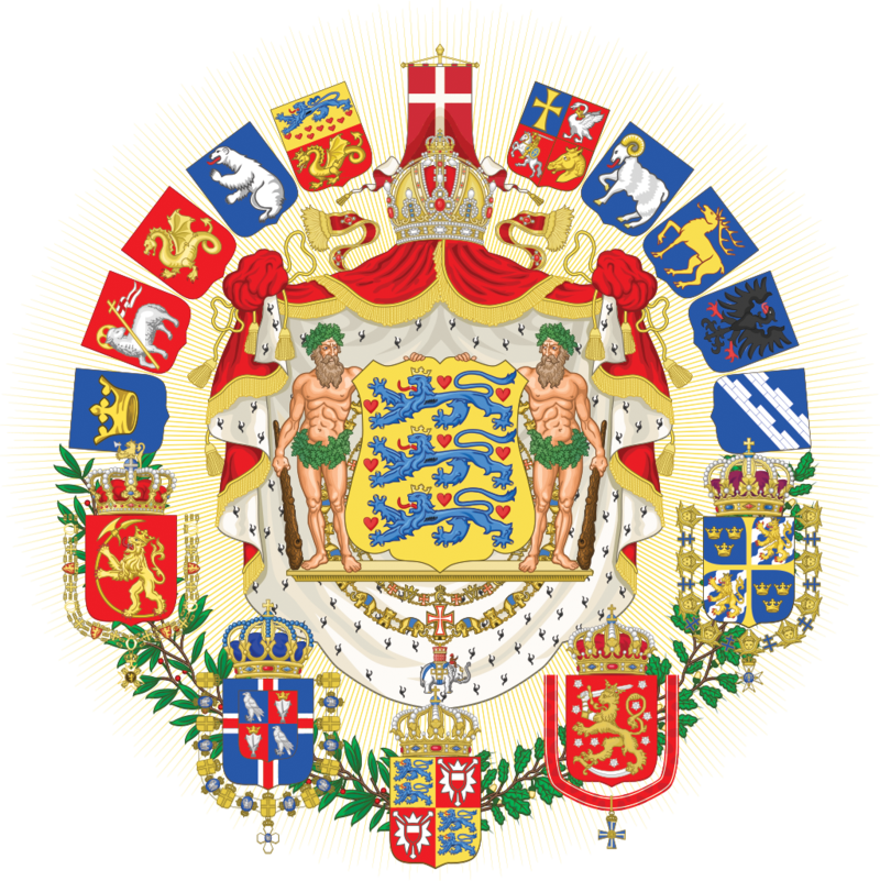 Fictional Coat Of Arms Of A Danish Led Empire In Scandinavia Coat Of Arms Arms Heraldry