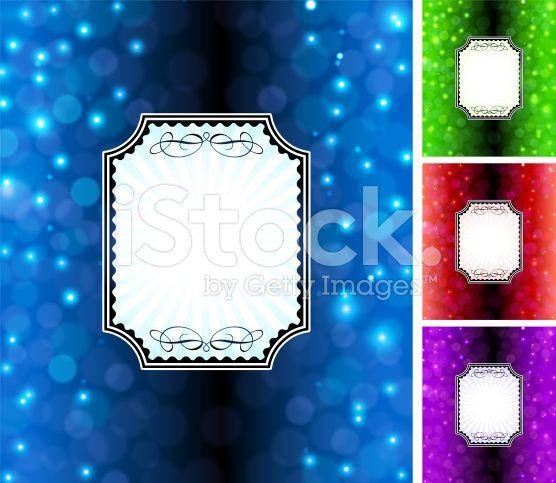 Festive holiday frame royalty-free stock vector art