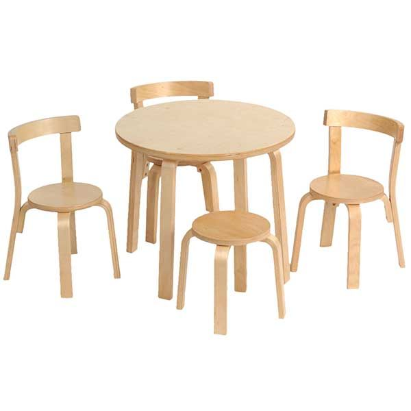 S8501 Toddler Table Chair Set Natural These Seem To Get Great