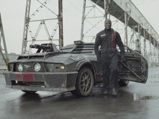 The Top Ten Baddest Movie Cars Death Race Racing Mustang
