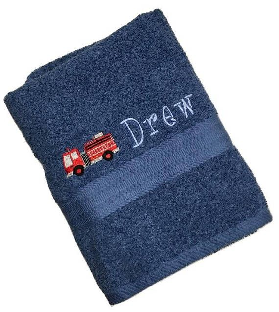 Kids personalized towels choose from 13 towel colors unlimited kids personalized towels choose from 13 towel colors unlimited designs and 26 fonts negle Choice Image