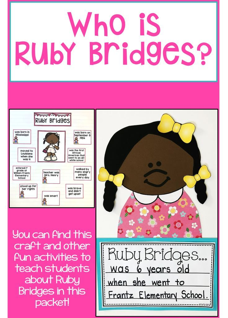 Photo of Ruby Bridges, Black History