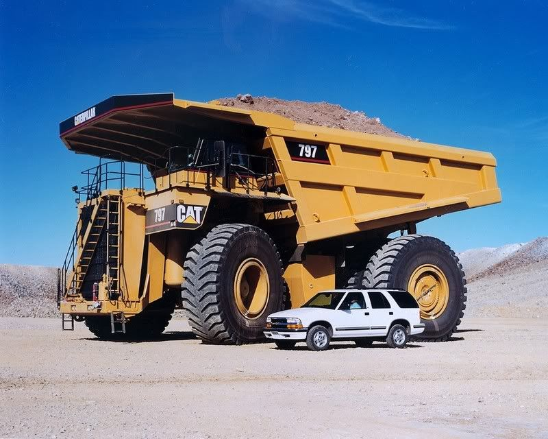 the worlds largest trucks caterpillar 797 series i can t afford one of these 5 500 000 trucks but i d sure like to drive one