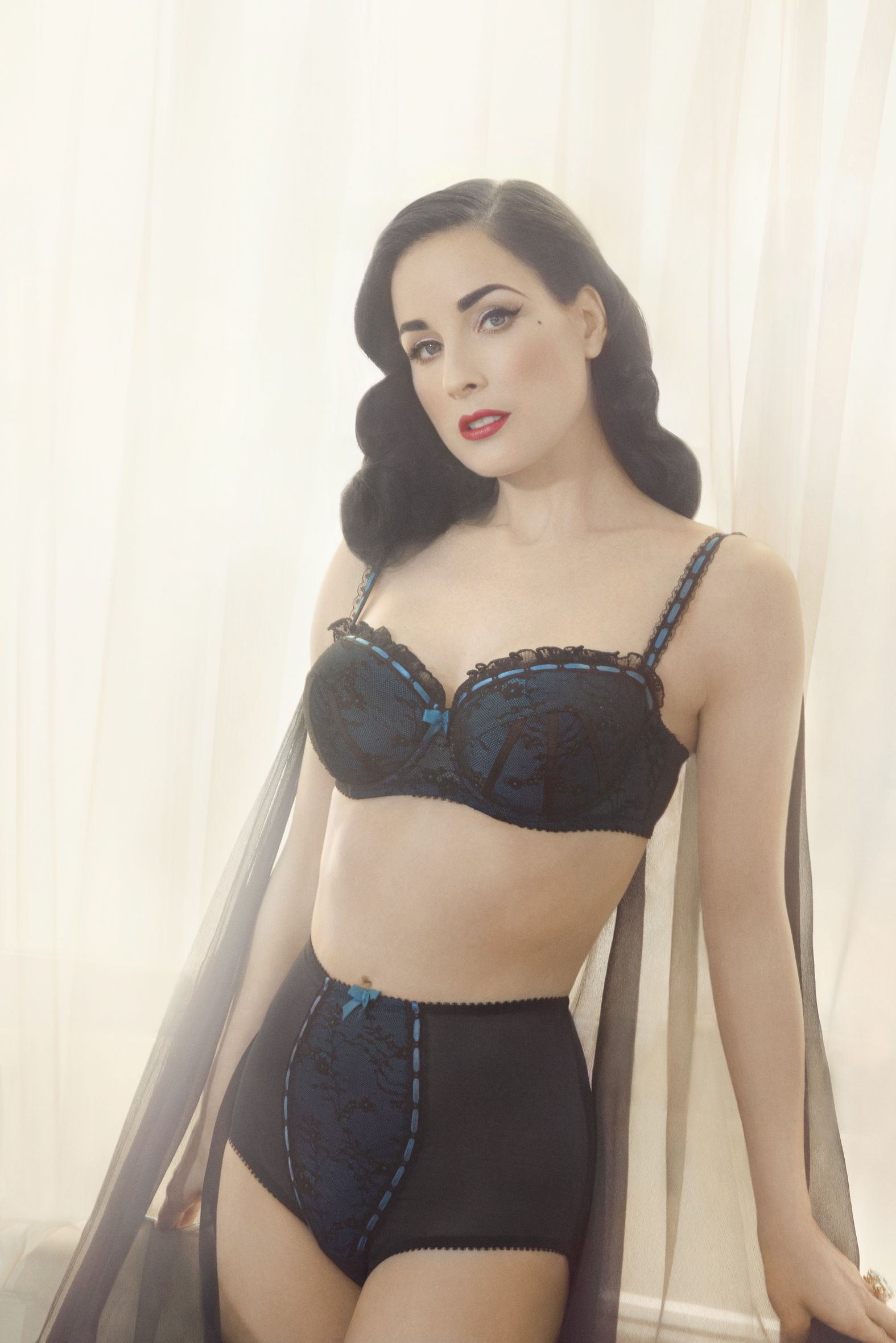 776b5127e846 Dita Von Teese (love her) is launching her lingerie line at Target  Australia and online in Feb!