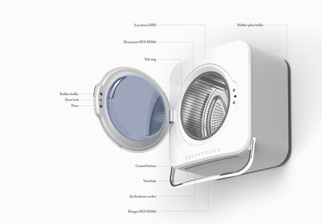 The Samsung Hanger Washing Machine Just Completes The Entire