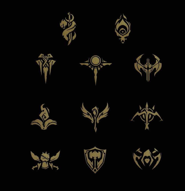 ArtStation - Icon Concepts (League of Legends), Samuel ...