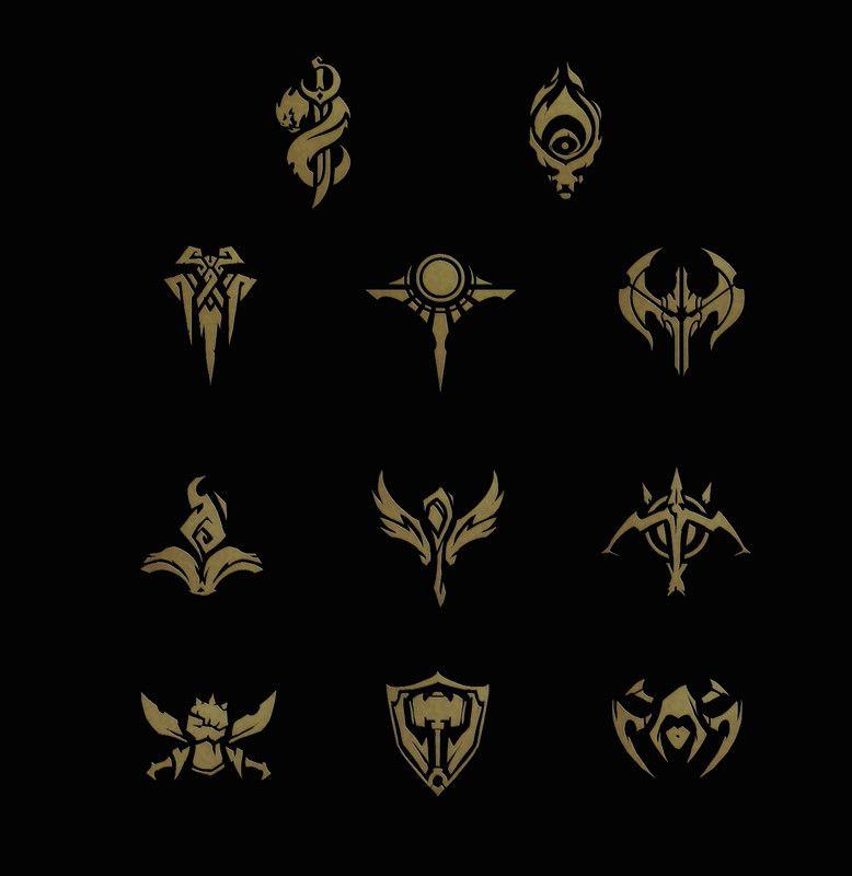 Artstation Icon Concepts League Of Legends Samuel Thompson
