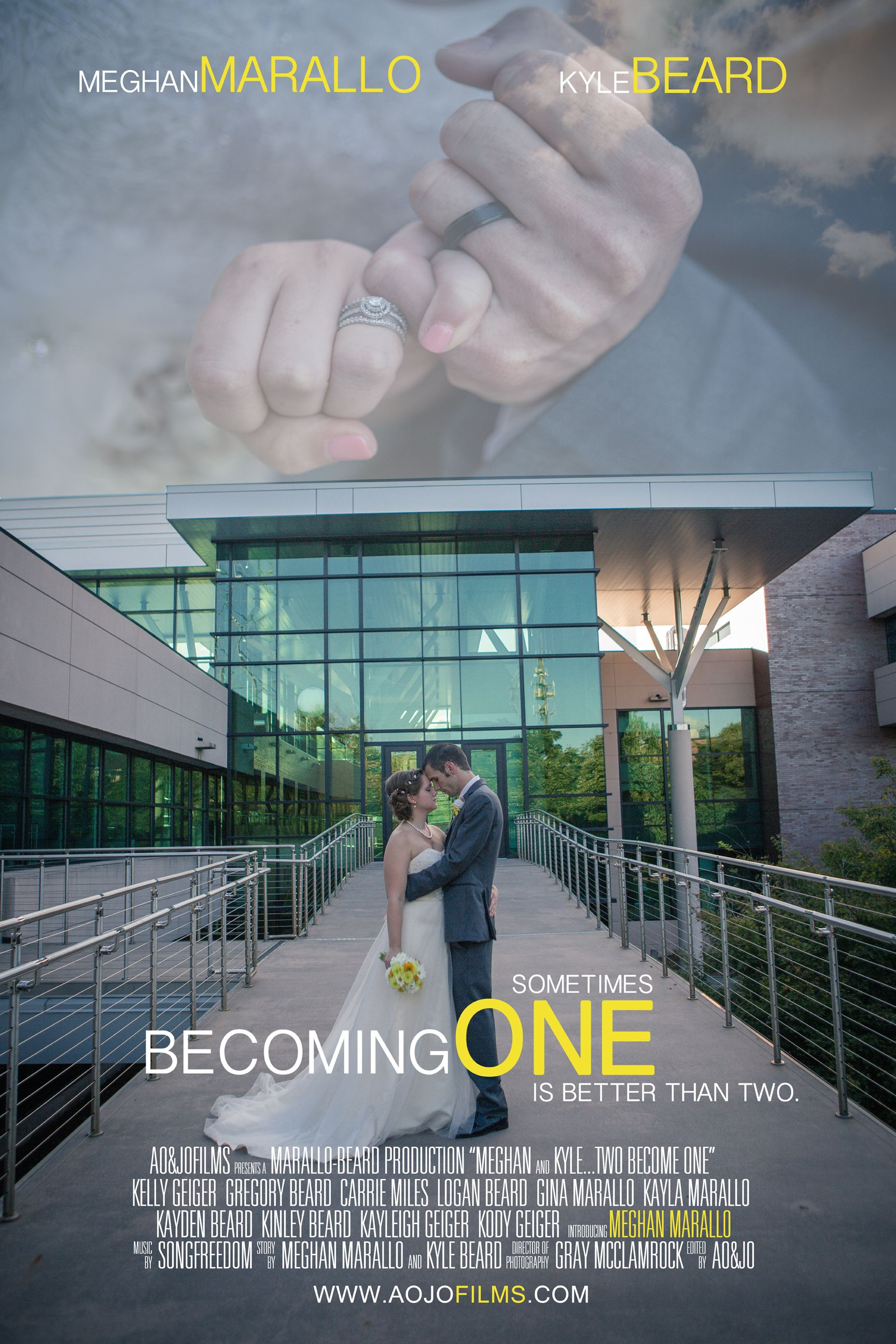 Movie Poster L Raleigh Wedding Photographer Videographer AOJO Photography Films