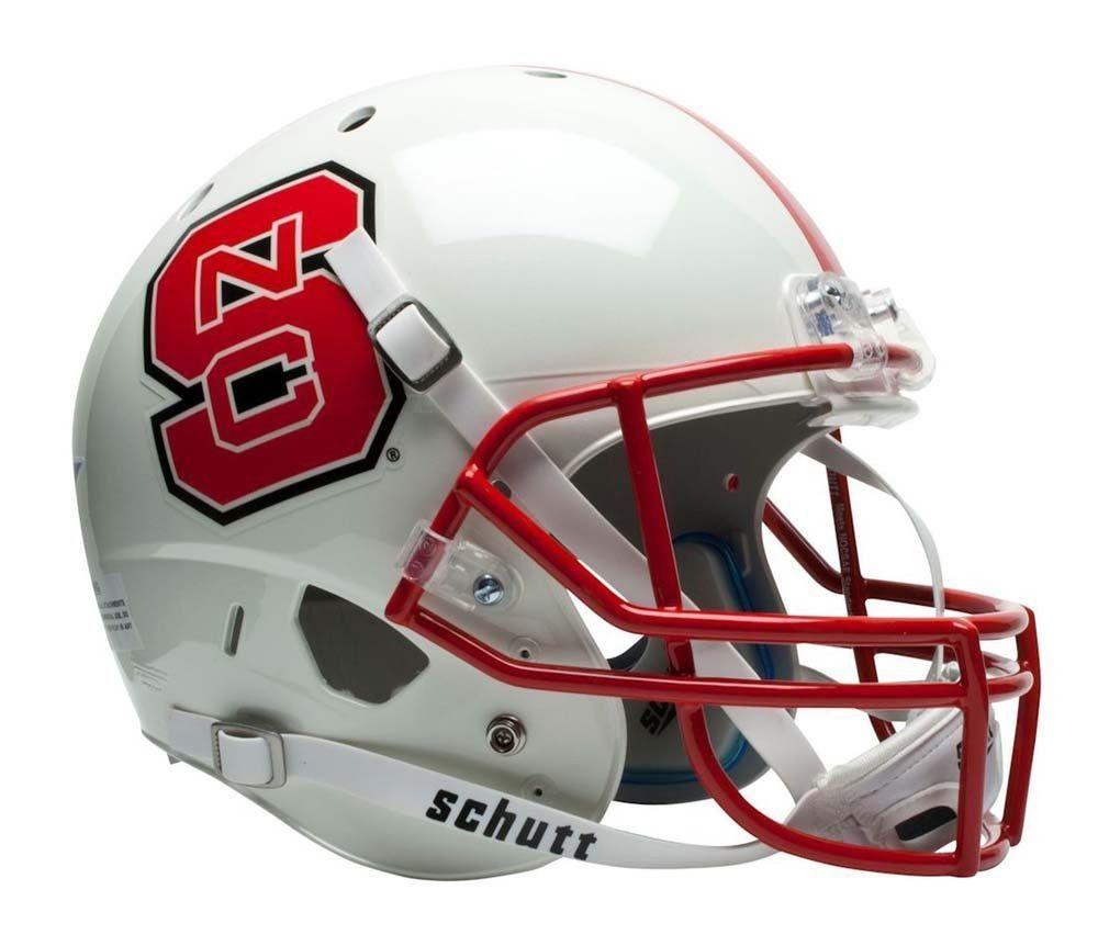College football helmet ncaa north carolina state wolfpack