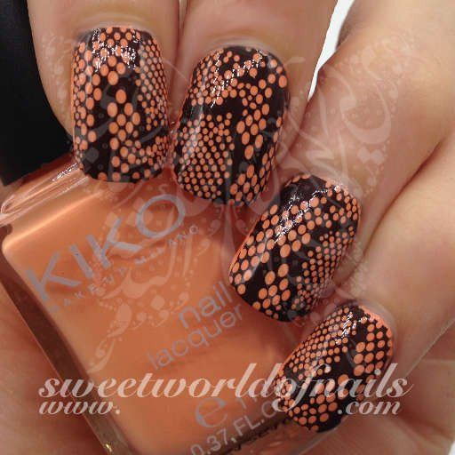 Animal Print Nail Art Snake Skin Nail Full Wraps | Snake skin nails ...