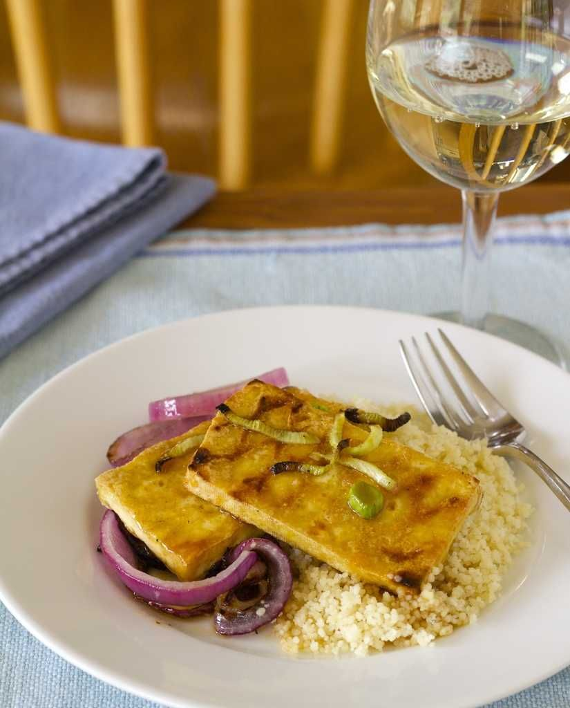 Jalapeo orange glazed tofu with red onions and fennel recipe a high protein vegan easy recipe for jalapeo orange glazed tofu with red onions and forumfinder Choice Image