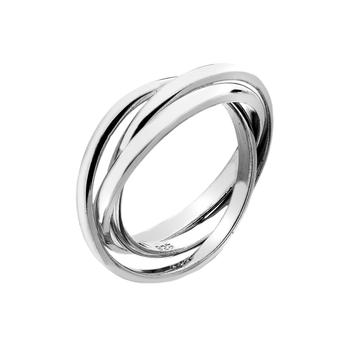 Sterling Silver 3 x 2mm Russian Wedding Ring | Russian ...