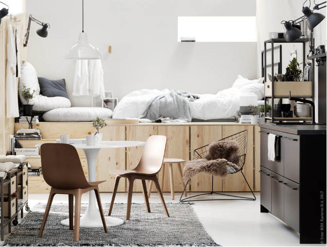 Appartement Design Archives Planete Deco A Homes World Vie Compacte Petit Espace De Vie Appartement Design