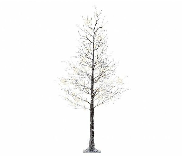 Lumineo Christmas Twig Tree with Snow Effect - GardenSite.co.uk - Lumineo Christmas Twig Tree With Snow Effect Christmas Pinterest