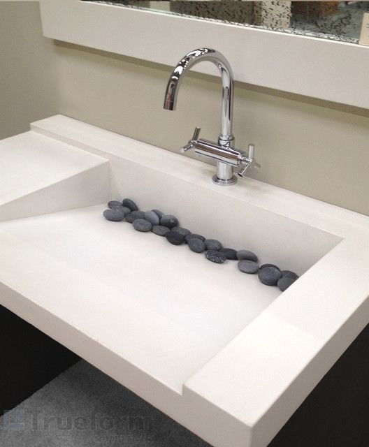 17 modern designs of bathroom sinks | houston homes | contemporary
