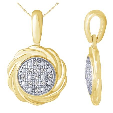Gem2jewels Diamond Swirl Wrapped 10 Karat Gold Pendant In 2020 Gold Studs Gold Pendant Stud Earrings