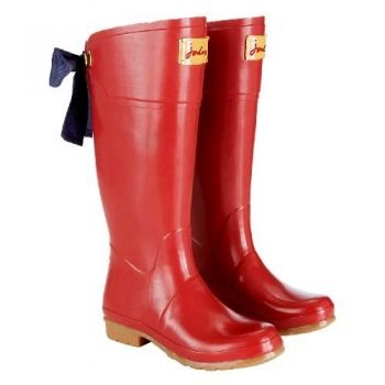Joules Welly with Bow (Evedon) - Red | Mama Wants :-) | Pinterest ...