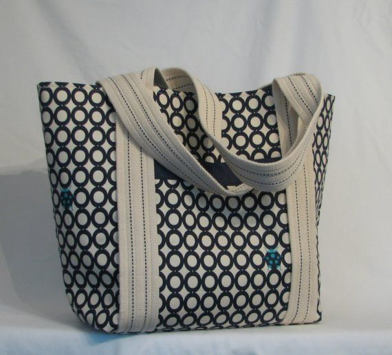 Bag with cotton webbing