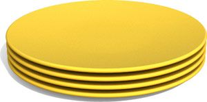 Jillian S Drawers Bpa Free Snack Plates By Green Eats 4 Pack Borden