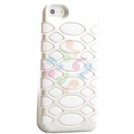 HyperGear SciFi Dual-Layered Protective Cover for iPhone 5 - White | RP: $24.95, SP: $18.95