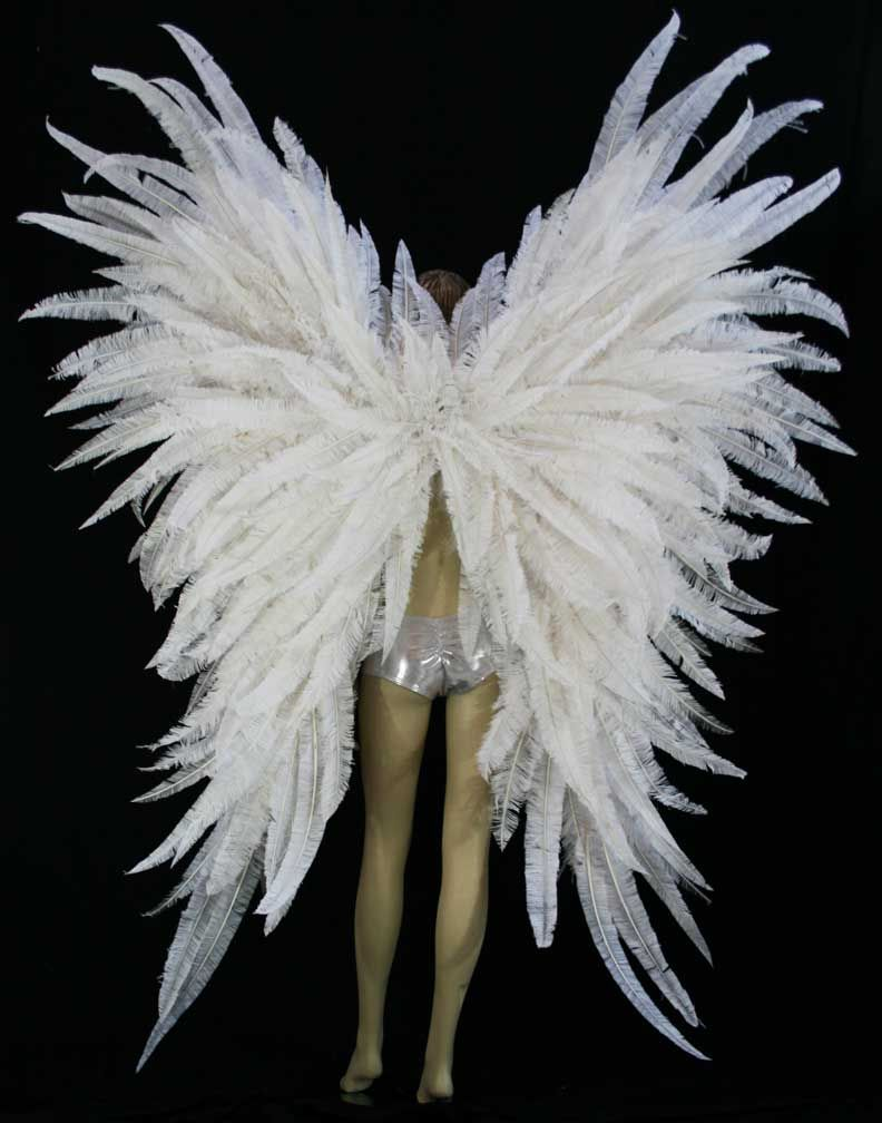dress - How to angel make wings to wear video