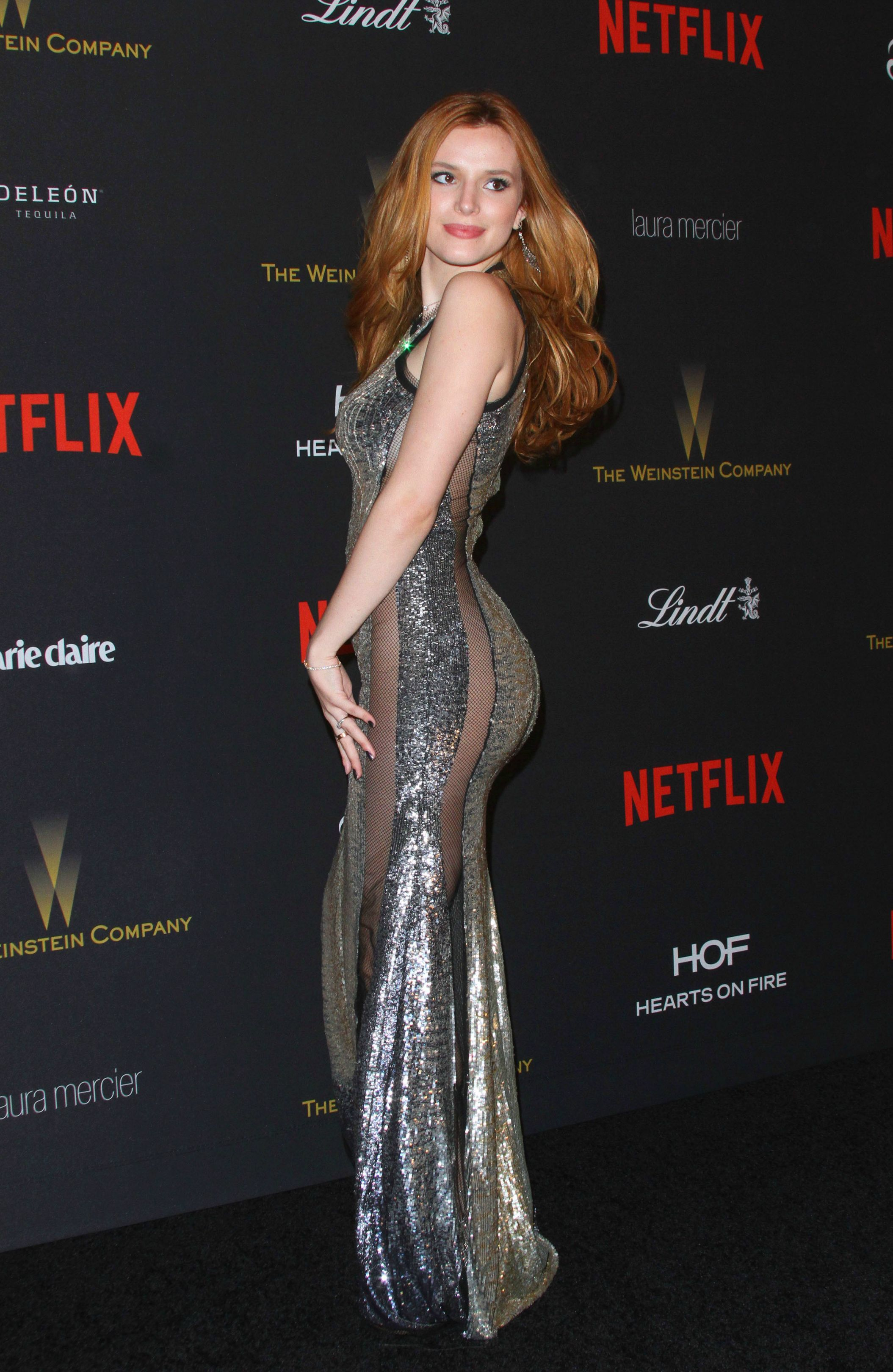 It up bella thorne sports a grown up look in elegant peplum dress - Bella Thorne Actress In A Beautiful Dress Without Underwear