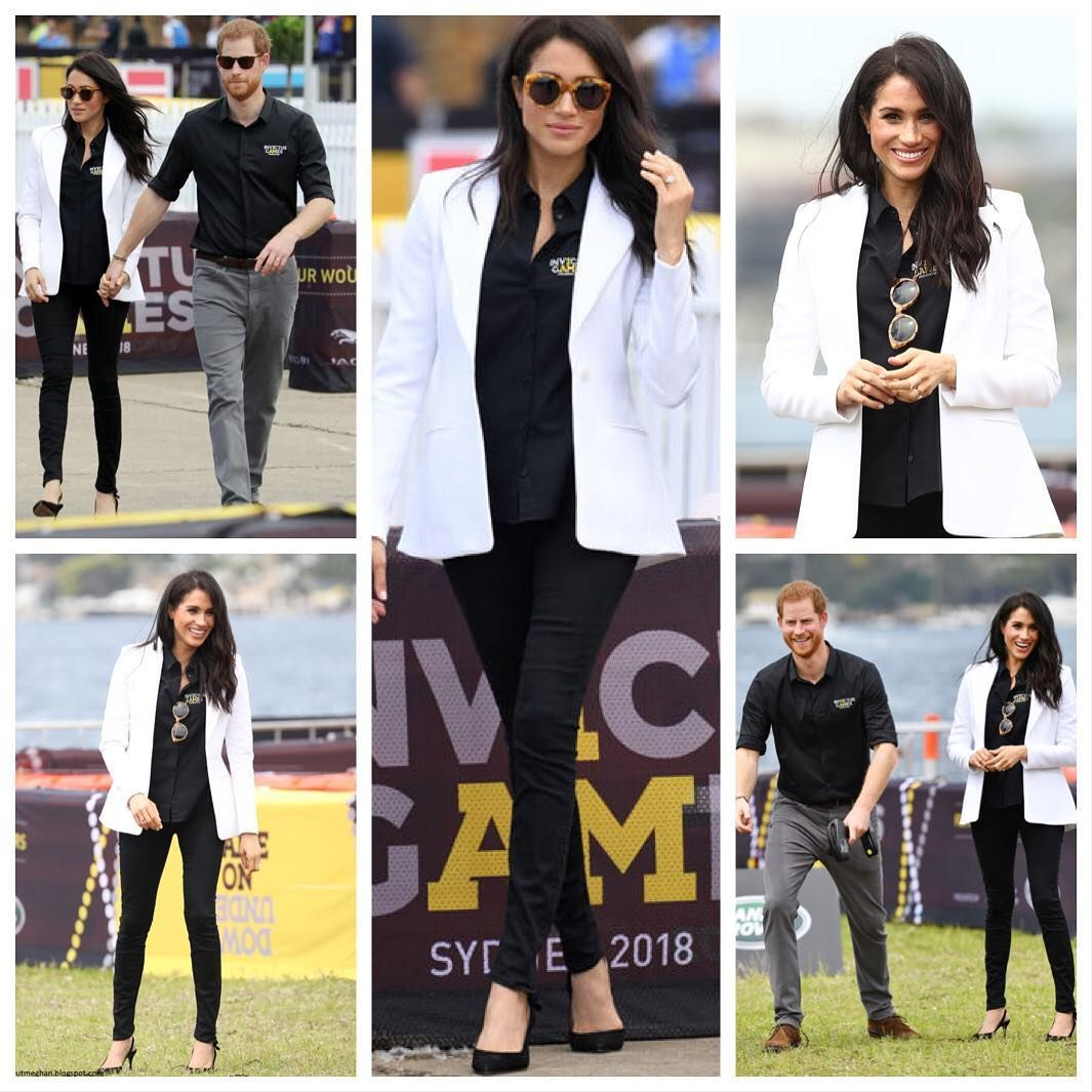 8d4d82ca053  fashion Prince Harry and Meghan Markle kicked off the Paralympic-style  competition for wounded and  fashion Prince Harry and Meghan Markle kicked  off the ...