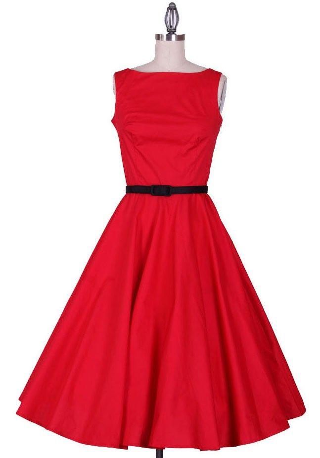 Pin up,Audrey hepburn,Swing dress,Rockabilly dress,Party dress,50s,Bridesmaid dress,Evening dress ,vintage dress (color change into blush, gold or navy blue)