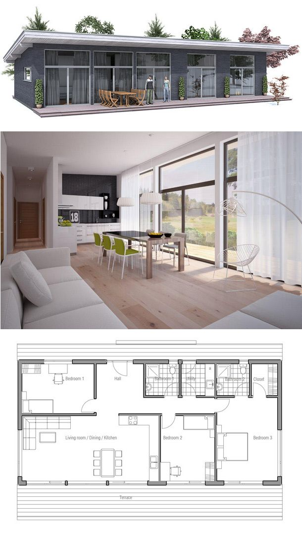 Small House Plan More 10 The Best