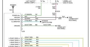 Ford Factory Amplifier Wiring Diagram With Images F150 ...