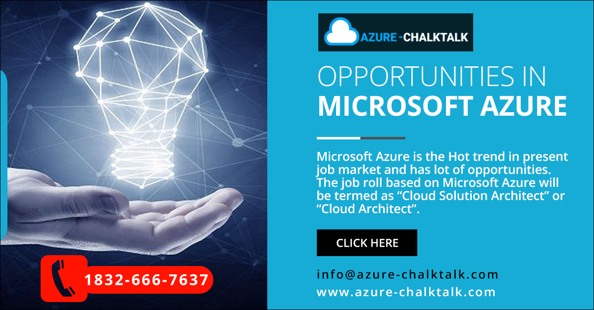 Opportunities In Microsoft Azure Marketing Jobs Platform As A Service Cloud Programming