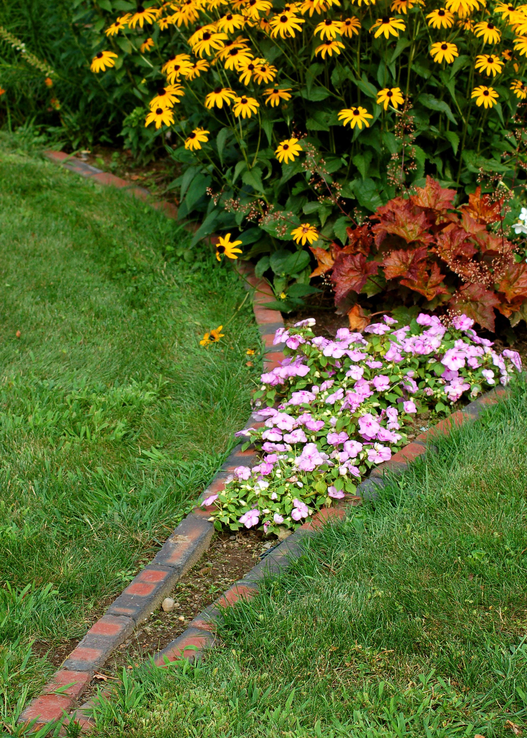 garden flower boarders flower garden borders