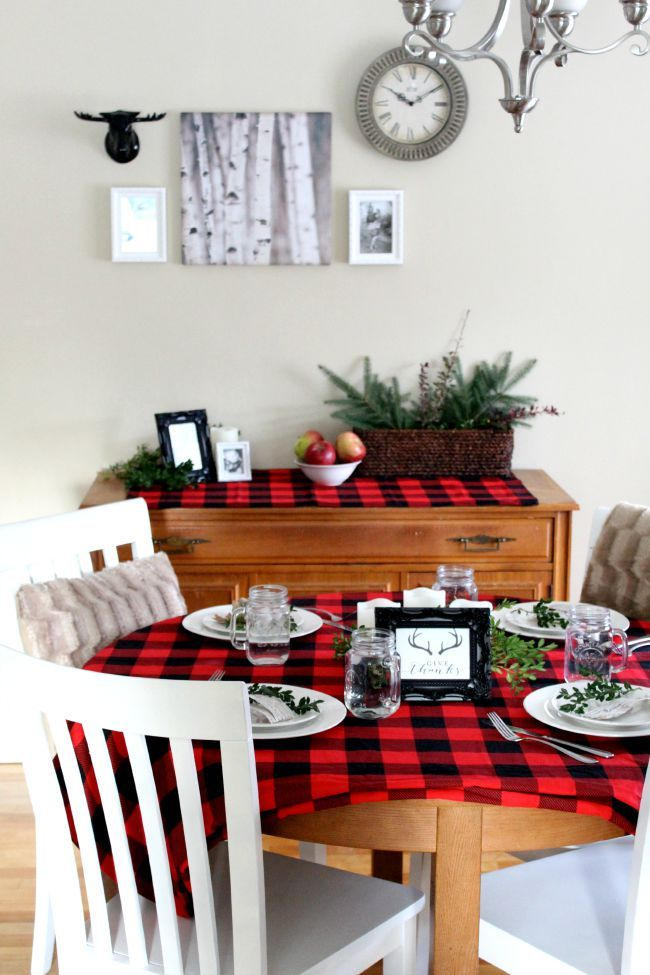 redecorate your dining room for fall on a budget deck the halls