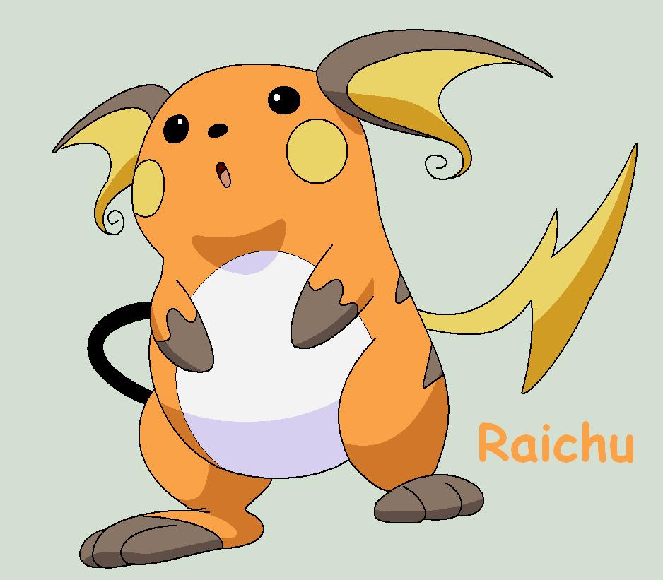 Pokemon Raichu Raichu | Raichu...